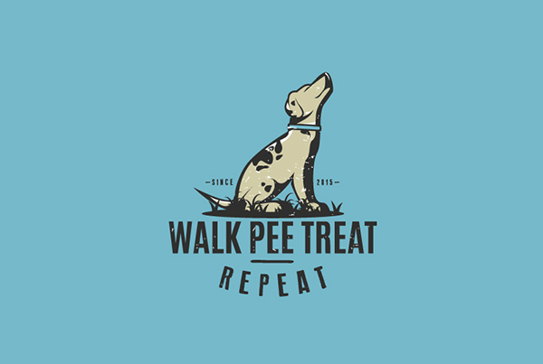 Walk Pee Treat Repeat